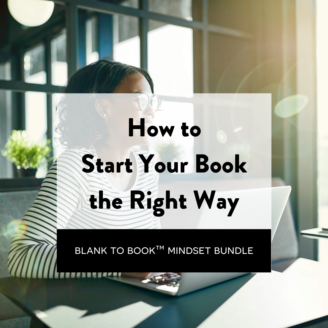 how to start your book the right way