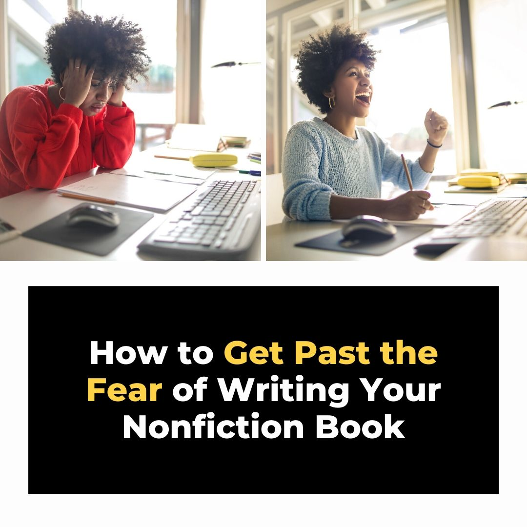 how to get past the fear of writing your book